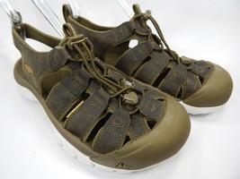 Keen Newport Sandals Men's Size US 9 M (D) EU 42 Olive Green Moss White