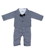 Boys 2 Piece Black and White Checked Suit 12 18 Months 2 3 4 Years - $20.21