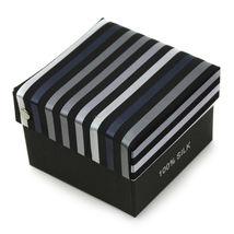 Berlioni Men's Silk Neck Tie Accessory Box Set With Cufflinks & Pocket Square image 15