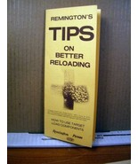 Booklet Remington's Tips on Better Reloading (1972, 12 pages) - $8.09
