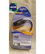 USB 2.0 Extension Cable Cord Standard Type A Male to A Female M/F Black - $5.00