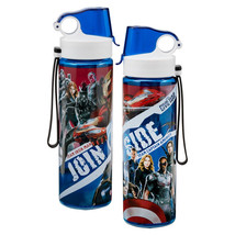 Marvel Comics Captain America Civil War Movie Images 24 oz Tritan Sport ... - $12.57
