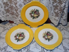 3 Salad or Fruit Plates Westwood China by Limog... - $17.64