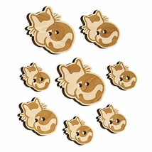 Cat Backside Wood Buttons for Sewing Knitting Crochet DIY Craft - Various Sizes  - $9.99