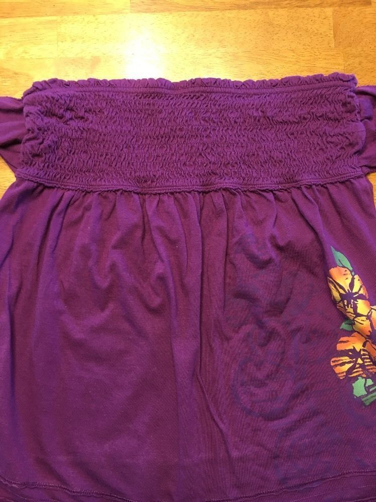 Arizona Girl's Purple Halter Top Shirt / Blouse Size: Medium image 3
