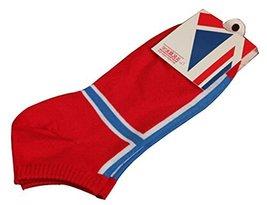 Black Temptation Set of 2 Flag Socks Cotton Socks Men Socks Sports Socks... - $15.67