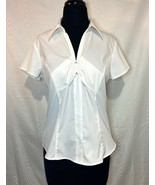 Style & Co Stretch Blouse Career Wear Size 8p - $24.00