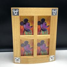 Walt Disney Picture Frame Storage Jewelry Trinket Box Mickey Mouse Purple 3D - $57.42
