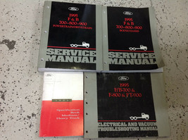 1995 Ford F&B 700 800 900 Truck Service Shop Workshop Repair Manual Set ... - $197.99