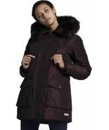 CONVERSE Sz XS Women's Sideline Down Puffer Jacket, Burgundy, MSRP $220 - $158.39