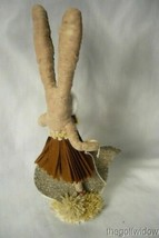 Vintage Inspired Spun Cotton, Chick Rider Bunny Girl image 2