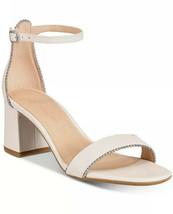 Nib Coach Maddie Ankle Strap Sandals Chalk Size 7.5 - $89.09