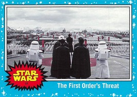 2017 Star Wars Journey To The Last Jedi #44 The First Order's Threat - €0,86 EUR