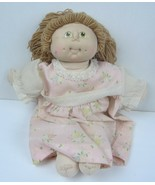 Cabbage patch kids dolls vintage 80's Wheat colored hair Green eyes - $15.89