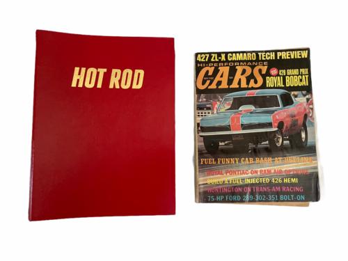 Vtg Jan-Dec 1981 Lot Bound Hot Rod Magazine High Performance Cars 1969 Binder