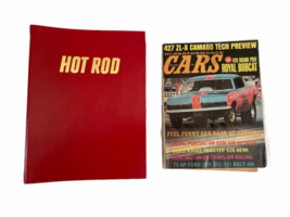 Vtg Jan-Dec 1981 Lot Bound Hot Rod Magazine High Performance Cars 1969 Binder image 1