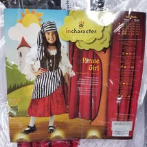InCharacter Pirate Girl Costume Dress Complete Size 10 In Original Package - €13,61 EUR