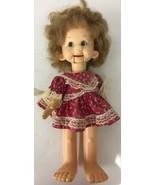 "Vintage 1974 HORSMAN Ventriloquist TESSIE TALK DOLL 18"" needs cleaning - $32.71"