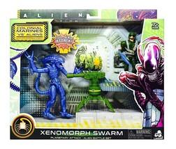NEW SEALED Alien Xenomorph Swarm Warrior vs Marine Action Figure Set Wal... - $29.69