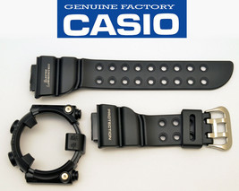 CASIO DW-8200BK G-Shock Frogman original rubber WATCH BAND & Bezel BLACK... - $92.95