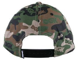 DGK Dirty Ghetto Kids Green Camouflage Assault Snapback Baseball Hat NWT image 4