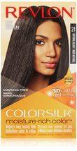 Revlon ColorSilk Moisture-Rich Color 21 Natural Black - $3.99