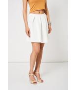 Off White Scuba Skater Skirt Cool Summer Sizes 10, 12, 14 NEW - $19.93