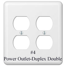American Water Spaniel Dog Light Switch Power Duplex Outlet Wall Plate Cover image 3