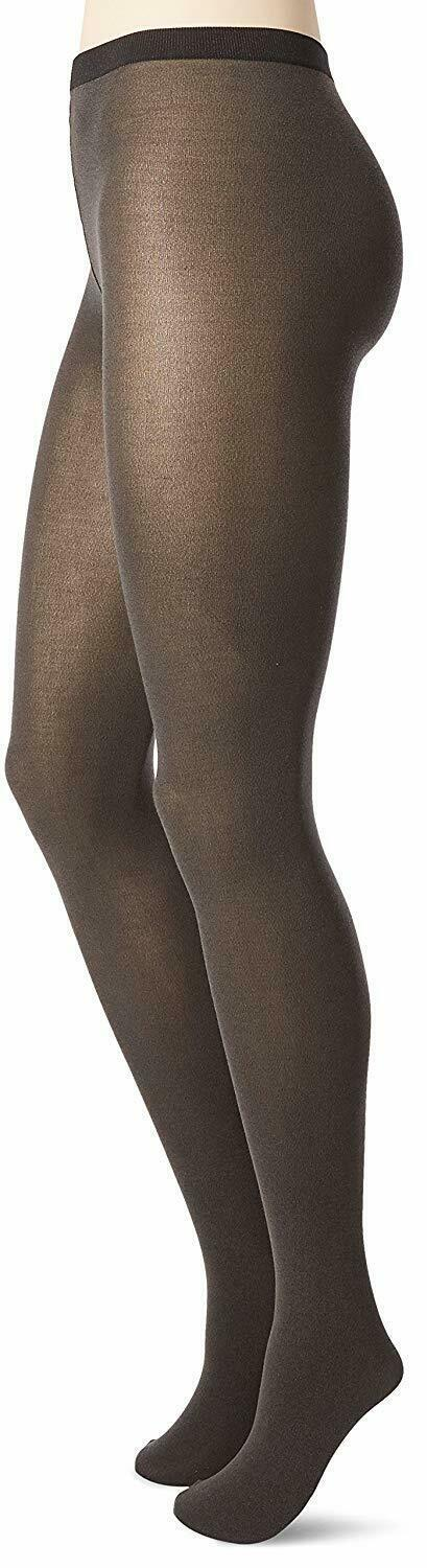 Wolford ANTHRACITE Cotton Velvet 80 Denier Tights, US Small image 2