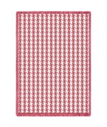 Houndstooth Pink - 69 x 48 Blanket/Throw - $64.95