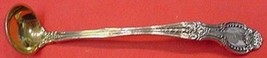 """Richelieu By Tiffany and Co. Sterling Silver Mustard Ladle Goldwashed Org. 4"""" - $198.55"""