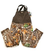 Under Armour Storm Realtree Edge Camo Brow Tine Hunting Bib Bibs Women's NWT - $149.99