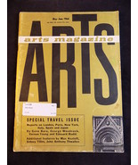 VINTAGE ARTS MAGAZINE MAY JUNE 1964 SPECIAL TRAVEL ISSUE London, Paris, ... - $23.75