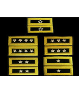 NEW US ARMY AUTHENTIC MALE BRIGADIER GENERAL HARD SHOULDER BOARDS RANKS ... - $59.40+