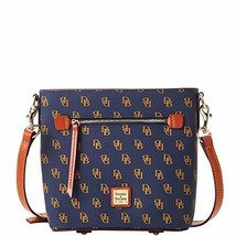 Dooney & Bourke Gretta Small Zip Crossbody Navy