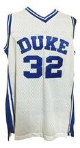 Christian Laettner #32 College Basketball Jersey Sewn White Any Size image 1