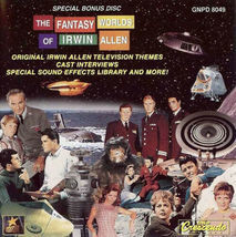 Fantasy World Of Irwin Allen ( Bonus Disc ) - TV Soundtrack/Score CD ( L... - $41.80