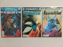 BLUE BEETLE: REBIRTH #1 + VARIANT #1 DC UNIVERSE REBIRTH #1 - FREE SHIPPING - $9.50