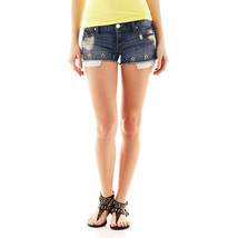 Decree Medium Wash Bling Shorts Junior Size 3 New With Tags Msrp $38.00 - $14.99