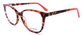GUESS GU2698 074 Women's Eyeglasses Frames 52-16-140 Red Tortoise - $65.22