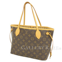 LOUIS VUITTON Neverfull PM Monogram Tote Bag M40155 France Authentic 536... - $895.48