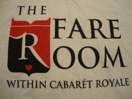 Cabaret Royale The Fare Room Adult Sexy Dallas All Nude Strip Club T shi... - $14.84