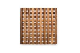 Ironwood Gourmet 28636 Venetian Trivet, 10 x 10 x 1 inches, Brown image 1