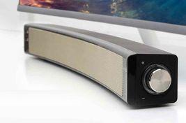 iRiver IR-SB200 USB Powered Curved Sound Bar PC Computer Speaker (Black) image 3