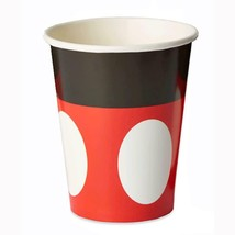 Disney Mickey Mouse Classic 9 oz Paper Cups 8 Per Package Birthday Party - $4.21