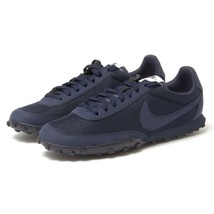 Nike Waffle Racer '17 PRM Running Shoes Obsidian Navy Blue Neutral 87625... - $99.95