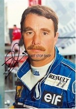 Nigel Mansell signed photo print - $3.85