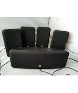 Boston Acoustics MCS160 Surround Sound System Speakers Set of 5 Black - $167.39