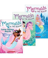 Mermaids to the Rescue Pack - Nixie Makes waves (Book 1) - Lana Swims No... - $31.99
