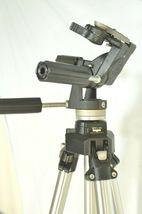 Manfrotto Bogen 3021 pro camera tripod +3047 Deluxe 3-way Pan/tilt Head image 11